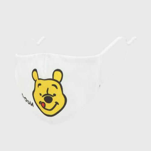 DISNEY Fabric Mask POOH  YUMMY Yellow