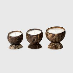 BsaB Coconut set of 3 - Fleurs de France (S-100g, M-120g, L-150g)