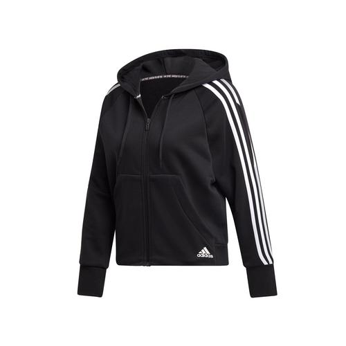 ADIDAS MUST HAVES 3-STRIPES FRENCH TERRY HOODIE Size S