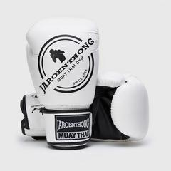 MUAY THAI STREET Boxing size 14 OZ. - White