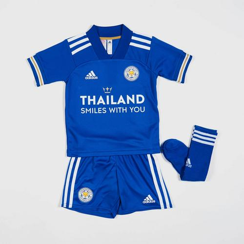 Leicester City Football Club Home Mini Kit 2020/21 Size 2-3 years