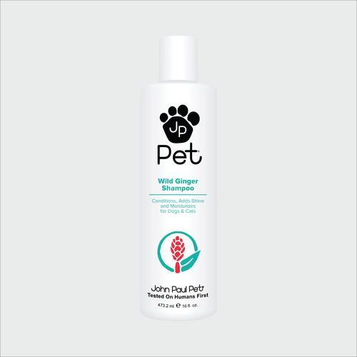 John Paul Pet Wild Ginger Shampoo 16 oz.