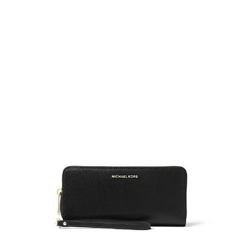 MICHAEL KORS JET SET TRAVEL CONTINENTAL - BLACK