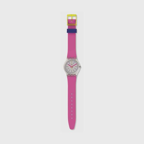 SWATCH FLUO PINKY 34 mm (GE256)