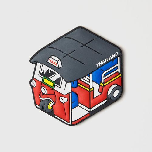 MAHANAKHON Tuk Tuk Cubic Magnet - Red