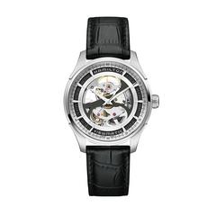 HAMILTON JM Viewmatic Skeleton Gents,silver