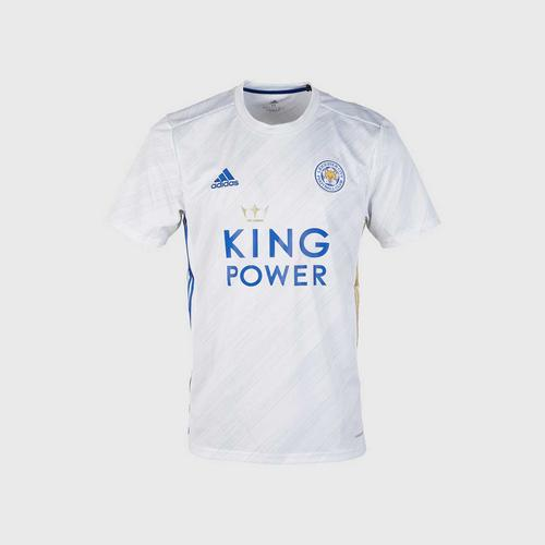 Leicester City Football Club Replica Away White Shirt 2020-2021 Size XS
