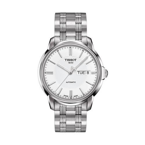 TISSOT Automatc Gent Steel  39.7mm (White Dial)