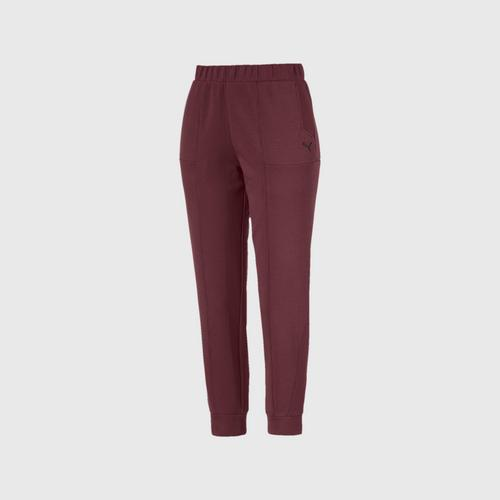 PUMA Ferrari Women's Sweat Pants Vineyard Wine SIZE XS
