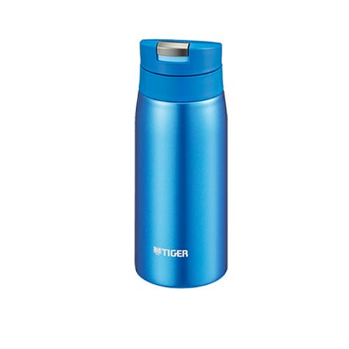 TIGER Stainless Steel Vacuum Bottle 350 ml. MCX - Blue