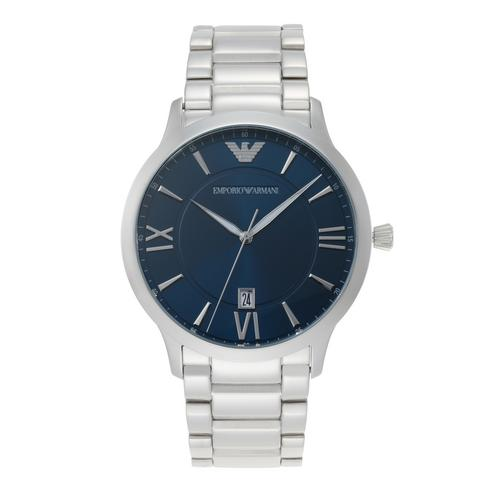 EMPORIO ARMANI Giovanni Analog Silver Stainless Steel Watch