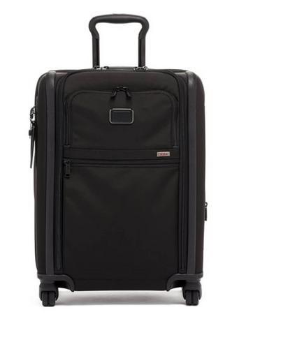 途明TUMI Continental Dual Access 4 Wheeled Carry On - Black