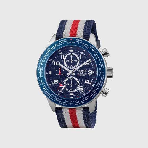 AVIATOR World Cities Men's Interchangable watch  45mm