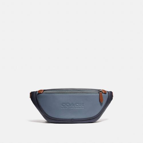 蔻驰COACH League Belt Bag In Colorblock -Blue