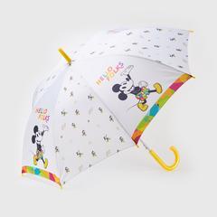 Disney Long Umbrella Mickey Mouse - White