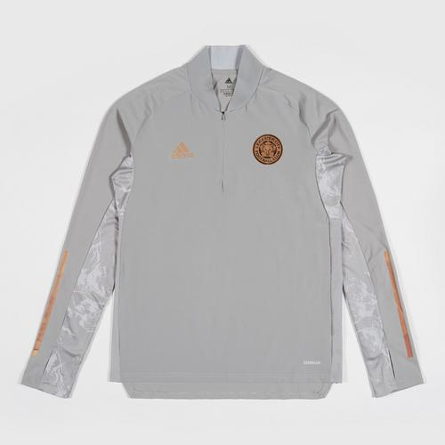 Leicester City Football Club 2020/2021 Europa Training Top Grey Colour Size S