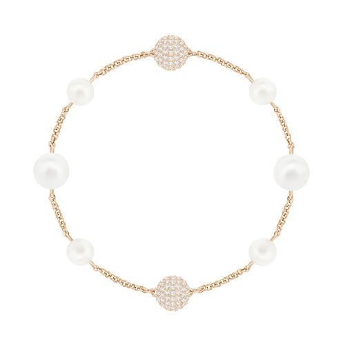 SWAROVSKI Remix Collection Mixed White Crystal Pearl, Rose gold palting