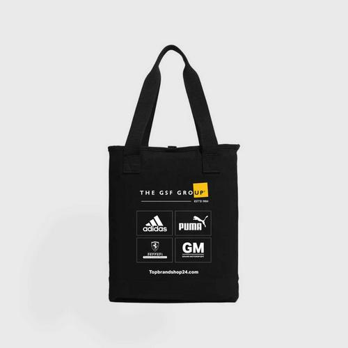 PUMA TBS Tote BAG black-yellow UK