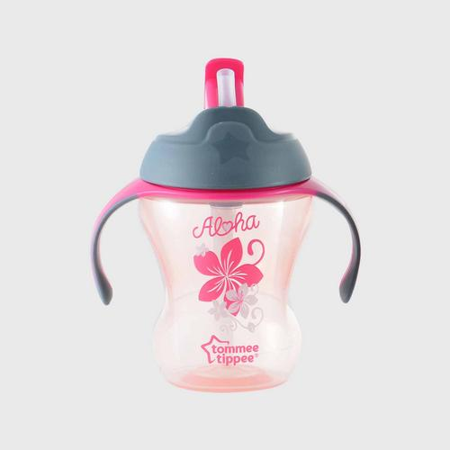 TOMMEE TIPPEE  Easy Drink Straw Cup - Blee - Training Straw  Cup - Pink