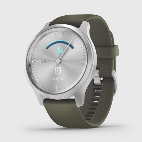 GARMIN Vívomove Style - Moss Scree/Siver