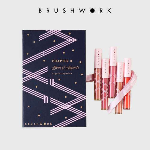 BRUSHWORK Holiday Lip Set (Limited Edition)