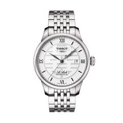 TISSOT Le Locle Gent Double Happiness 39.3 MM (Silver Dial)