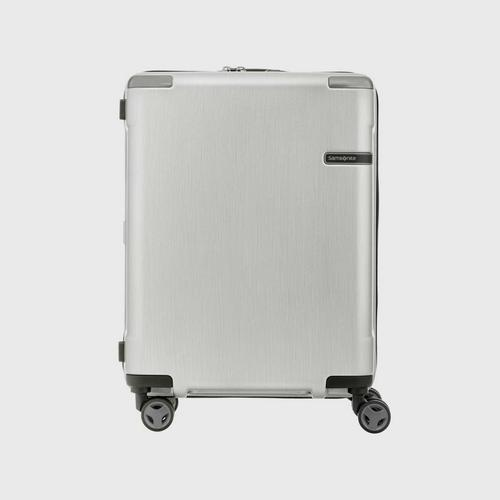 SAMSONITE EVOA SPINNER 55/20 - BRUSHED SILVER