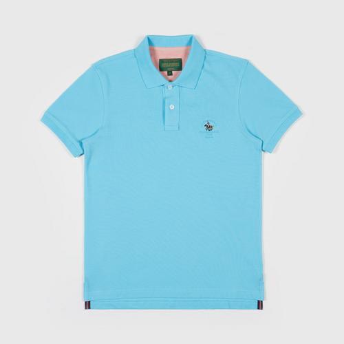 SANTA BARBARA Polo Shirt  LIGHT BLUE SIZE S