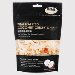 泰国品 泰国香脆椰子片  (不含麸质)  100 克