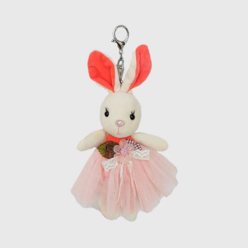 VITTA  Plush Rabbit Keychain - Orange