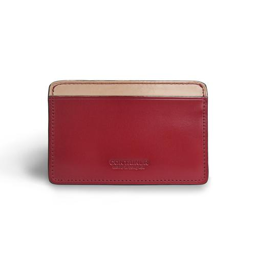 CONTAINER Card Holder Compact - Burgundy
