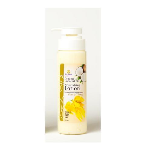 PIYAMAS Organic Coconut Oil Nourishing Lotion Ylang Ylang 250 G.