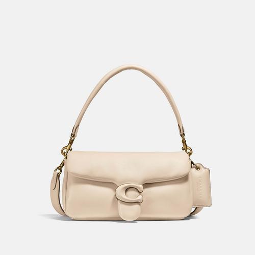蔻驰COACH Pillow Tabby Shoulder Bag 26 - Cream