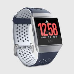 FITBIT Ionic: adidas edition Watch - Ink Blue/Ice Gray/silver gray
