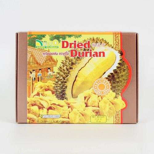 DURIO DRIED DURIAN 75 G.