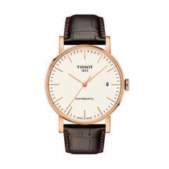 TISSOT Everytime Swissmatic  Gent Rosa 40mm (White Dial)