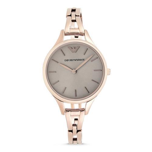 EMPORIO ARMANI Aurora Analog Pink Stainless Steel Watch