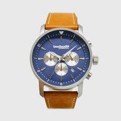 Lambretta Watch Imola44 Blue Leather Tan