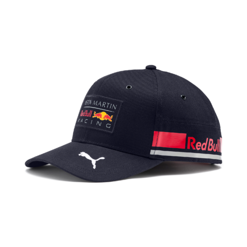 Puma AMRBR Replica Team Cap - Night Sky/Chinese Red
