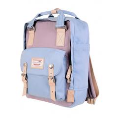 DOUGHNUT BACKPACK MACAROON : Lilac X Light Blue