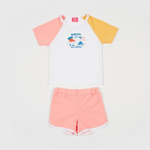 NANITA Kids Clothing Set CB001 - Pink - S