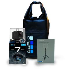 GoPro Hero7 (Black) with Shorty & Dry Bag
