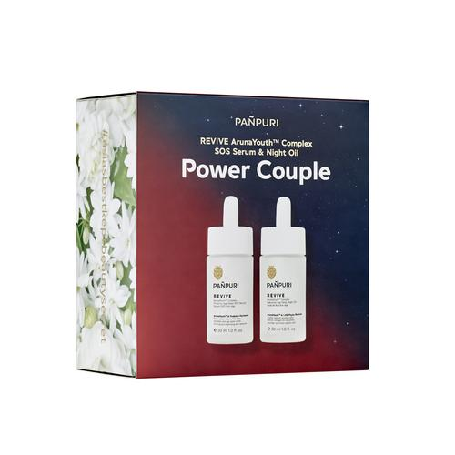 PAÑPURI  REVIVE ARUNAYOUTH COMPLEX SOS SERUM & NIGHT OIL POWER COUPLE