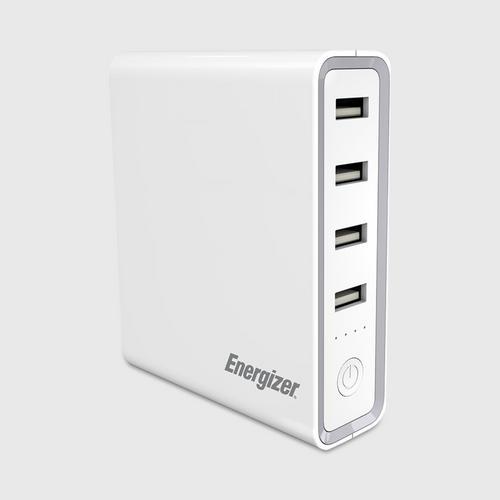 Energizer Power Bank 20000mAh USB-C 5V 3A (36W Max) - White