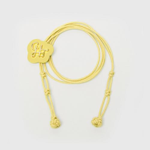 CHATO STUDIO Mask Hanging Robe-Yellow
