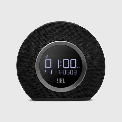 JBL Horizon Bluetooth Clock Radio With USB Charging And Ambient Light Black
