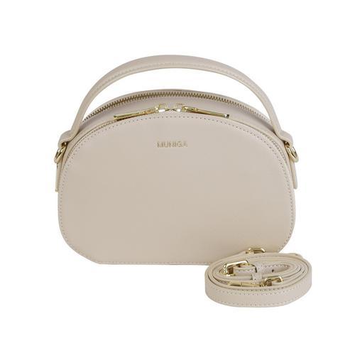"""MUNIGA """"LUNA"""" SHOULDER BAG (WHITE) L 21 x H 14.5 x W 7 cm."""
