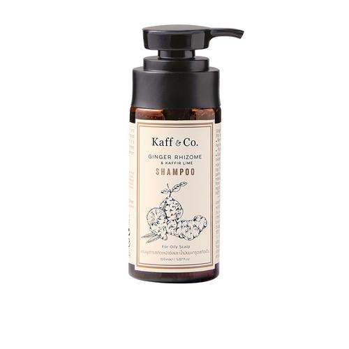 Kaff & Co. Ginger Rhizome & Kaffir Lime Essential Oil Shampoo 150 ml.