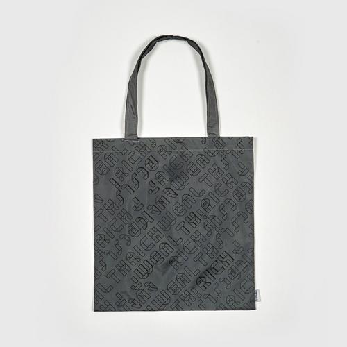 MAHANAKHON Foldable Tapian Tote Bag - Gray