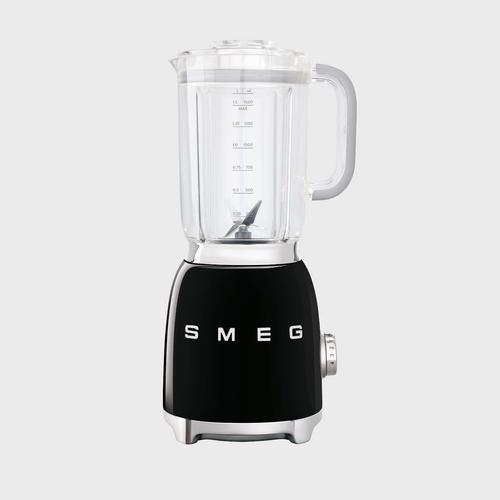 SMEG Blender 50's Retro style Aesthetic BLF01BLEU - Black